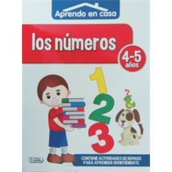 LIBRO COLOREAR APRENDO EN CASA (4-5) ACTIVIDADES
