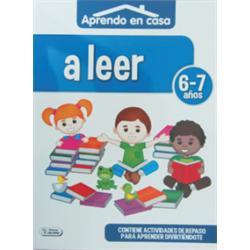 LIBRO COLOREAR APRENDO EN CASA (6-7) ACTIVIDADES
