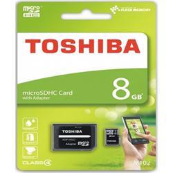 TARJETA DE MEMORIA TOSHIBA MICRO SDHC 8GB CLASS4