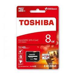 TARJETA DE MEMORIA TOSHIBA MICRO SDHC 8GB CLASS10