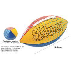 """BALON RUGBY MINI """"PLAY MORE"""" 21,5 CMS."""